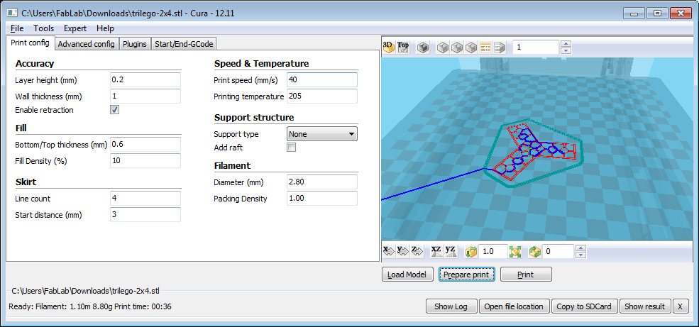 how to connect cura to your 3d printer