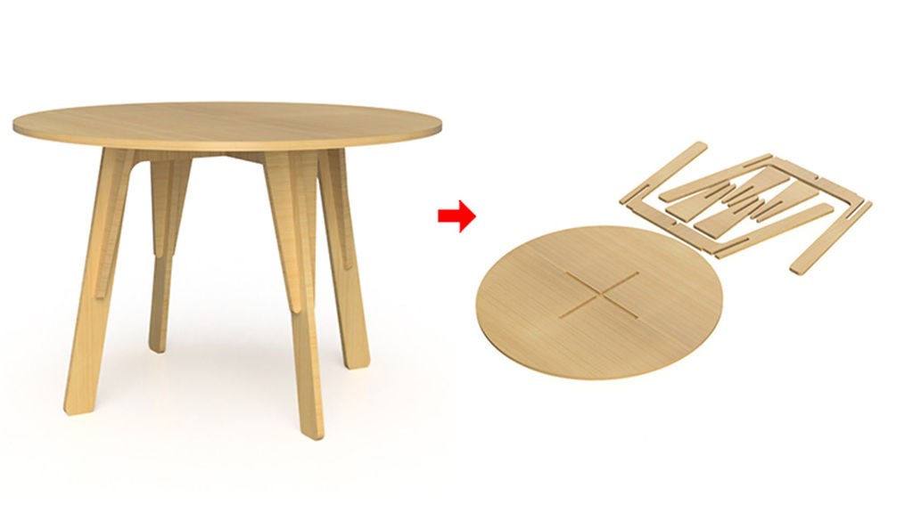 Furniture and CNC design with fusion 360 | wikimal